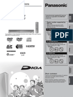 Panasonic DVD Recorder Manual
