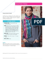 Color Play Crochet Scarf Pattern