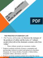 De Certeau - The Practice of Everyday Life