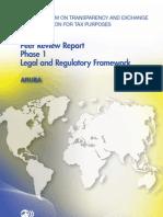 Peer Review Report Phase 1 Legal and Regulatory Framework - Aruba