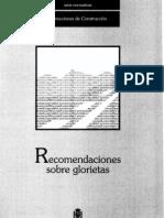 Recomendaciones sobre Glorietas - Ministerio de Fomento - Dirección General de Carreteras