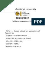 Term Paper