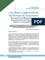 Guia Normas Vancouver Sistematizacion