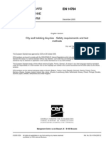 20081023-Cen Bike Standards en 14764 English-draft