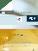 LOS HÁBITOS DE ESTUDIO