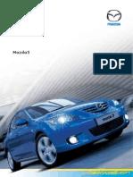 Mazda3 Brochure 2004