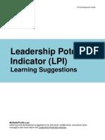 LPI_LearningSuggestions