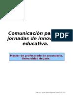 Texto comunicación II jornadas innovación docente