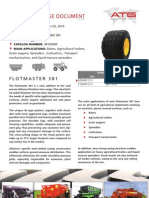 Alliance Flotmaster 381 Product Specs. - Size 620-40