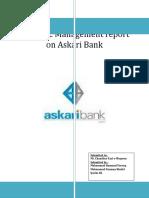Strategic Management Report on Askari Bank