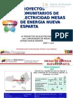 PROYECTOS EJECUTADOS 2007 2008