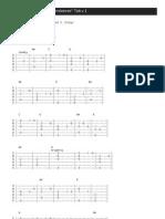 Green Sleeves Guitar Tab