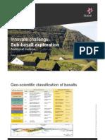 Sub-Basalt Exploration Addtitional Information