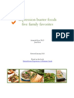 Depression Busters Five Family Favorites