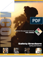 Spring Summer Safety Brochure - U.S. Army IMCOM