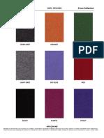 SohoConcept Fabric Options