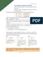 Parallelism in Algorithms- Bernstein's Conditions