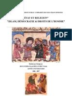 islam démocratie et droits de l'homme