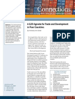A G20 Agenda for Trade and Development in Poor Countries