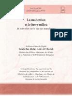15246720 La Moderation Et Le Juste Milieu en Islam