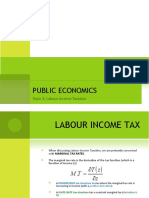 Labour Income Taxation