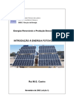 Introducao a Energia Fotovoltaica