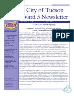 April 2011 Newsletter 2
