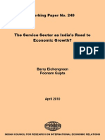 The Improtance of Service Sector in India