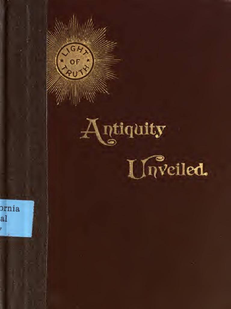 Antiquity Unveiled - Roberts | Jesus | Paul The Apostle