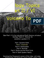 Geology Topics Unit Part II/V Volcanoes - For Educators - Download at www. science powerpoint .com