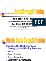 Tier Training Ppt