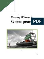 Bearing Witness to Greenpeace - Rachel Sarnoff