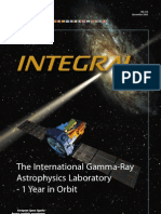 Integral the International Gamma-Ray Astrophysics Laboratory 1 Year in Orbit