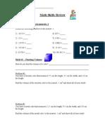 Math Skills[1]