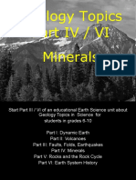 Geology Part IV/V Minerals Powerpoint for Educators - Download at www. sciencepowerpoint .com