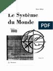 Le système du monde - Histoire des doctrines cosmologiques de Platon à Copernic. Tome 2