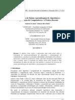 Concepção de Ensino-Aprendizagem de Algoritmos e Programação de Computadores A Prática Docente