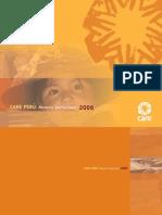 Memoria Institucional CARE Perú 2006