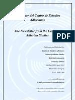 Edición Centenario - Newsletter Centro de estudios adlerianos