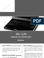 Manual Notebook RBE-232M