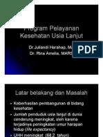 Dms146 Slide Program Pelayanan Kesehatan Usia Lanjut
