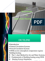 Solar Water Heating Notes