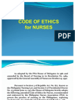 Report (Code of Ethics)