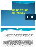 Report (Code of Ethics)