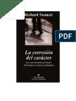 _La Corrosion Del Caracter_Sennett
