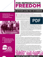 Fight for Reproductive Freedom - CLPP 30th Anniversary Newsletter