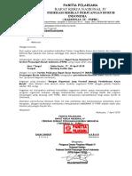 Surat Proposal Rakernas