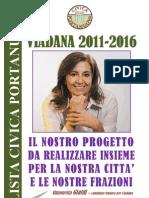 PROGETTO CIVICO 2011