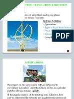 Hibb 11e Dynamics Lecture Section 16-01 Thru 16-03-2