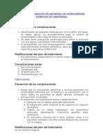 Protocolo de atención de pacientes con enfermedades sistémicas en odontología